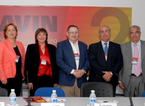 Imagen de la primera edición del Foro FEVIN, celebrada en 2011