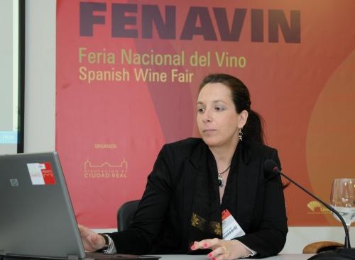 Eva Sánchez Palomo Lorenzo, investigadora del Departamento de Química Analítica y Tecnología de los Alimentos
