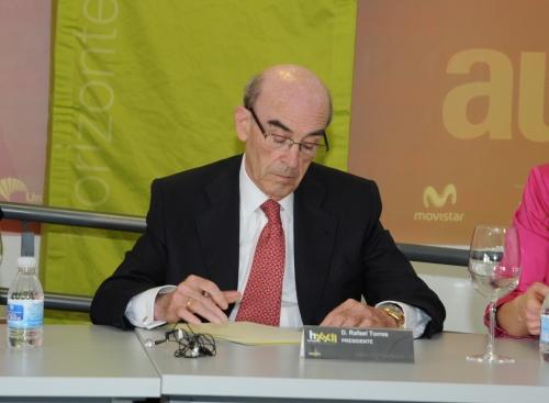 Rafael Torres, presidente de la cooperativa Virgen de las Viñas