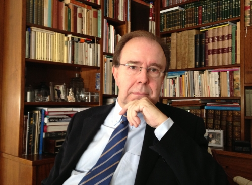 Pedro Álvarez de Miranda, director de la 23 edición del Diccionario de la RAE