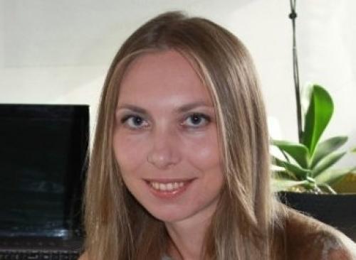 Alesia Slizhav, profesora UCM