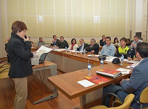 Reunión con los representantes de los diversos servicios de seguridad de Ciudad Real