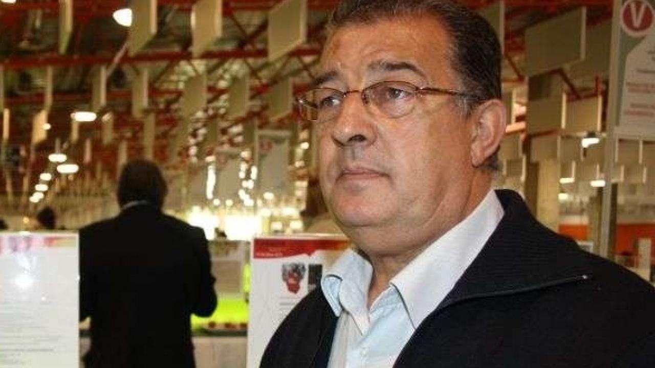 Cesáreo Cabrera, presidente de El Progreso en FENAVIN 2015