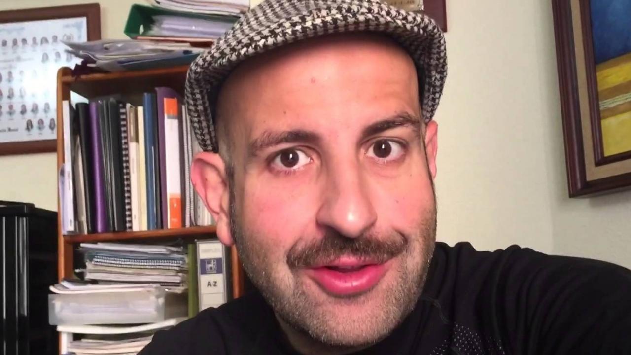 Agustín Durán, uno de los tres participantes en Humor con vino