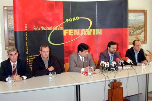 Nemesio de Lara presenta el Foro Fenavin de Tomelloso
