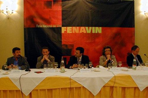 José Ramón Martínez Peiró, Sergio Sauca, José Ribagorda, Paz Ivison y José Carlos Capel