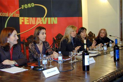 Petra Mateos, Carmen Posadas, Marta Robles, Carmen Gurruchaga y Marisol Galdón
