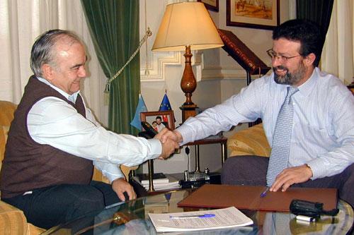 Miguel Martín y Nemesio de Lara