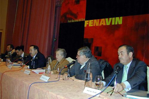 """Foro Fenavin """"Opiniones sobre la nueva Ley del Vino"""", celebrado en Manzanares"""