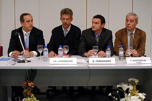 Vicente Sánchez-Migallón, José Ramón Lisarrage, Diego Fernández Pons y Fernando Martínez de Toda
