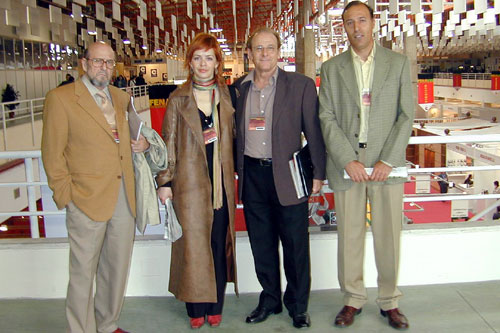 María Adánez, Emilio Gutiérrez Caba, José María Arcos y Agustín González