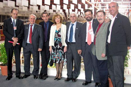 Visita de José María Barreda a FENAVIN 2003