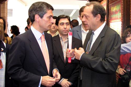 Adolfo Suarez Illana y Manuel Juliá