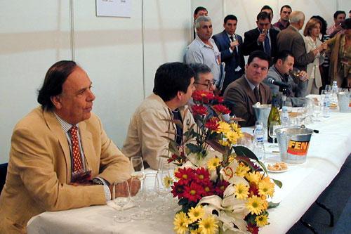 Carlos Falcó en la cata Grandes Pagos de España
