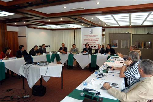 Meeting of the Unión Internacional de Enólogos (International Union of Oenologist)