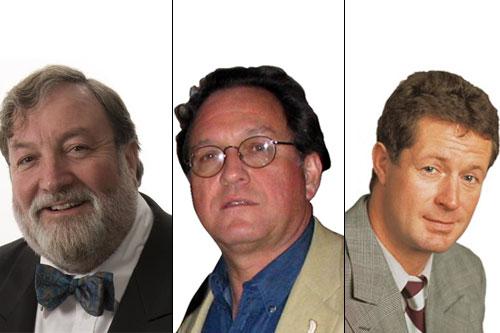 John Radford, Gerry Dawes und David Schwarzwälder