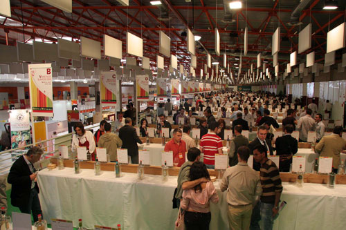 General view of the Wine Gallery at FENAVIN 2007