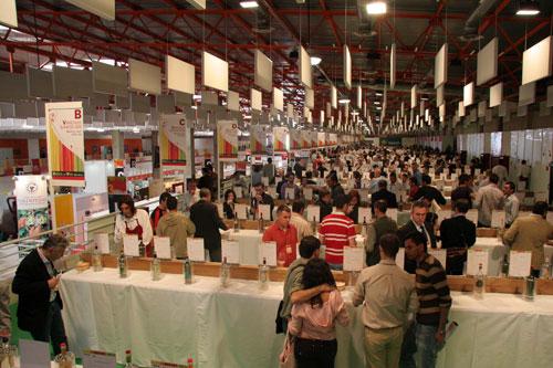 Vista general de la Galería del Vino de FENAVIN 2007