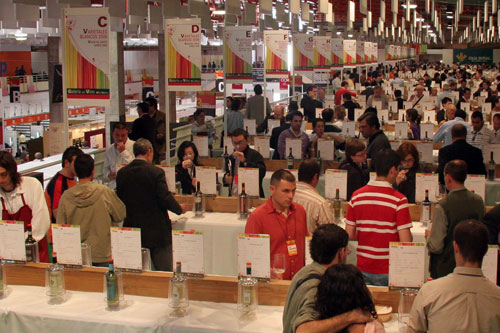 View of the Wine Gallery at FENAVIN 2007