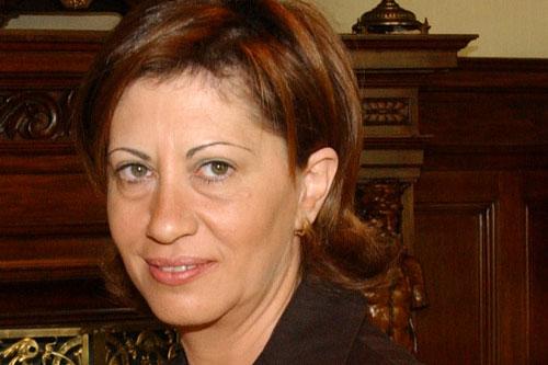 Elena Espinosa, ministra de Medio Ambiente, Medio Rural y Marino