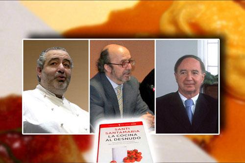 Santi Santamaría, Lorenzo Díaz y José Carlos Capell