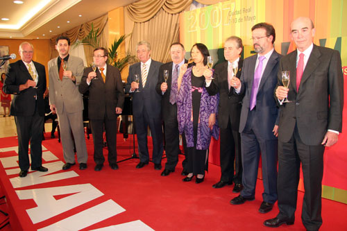 Image of the FENAVIN 2007 laureates