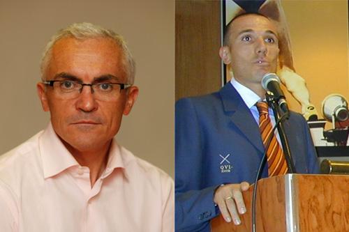 Paco García Caridad and Chema Martínez