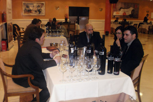 Image of the meetings held this Tuesday between Mexican importers and Ciudad Real wineries