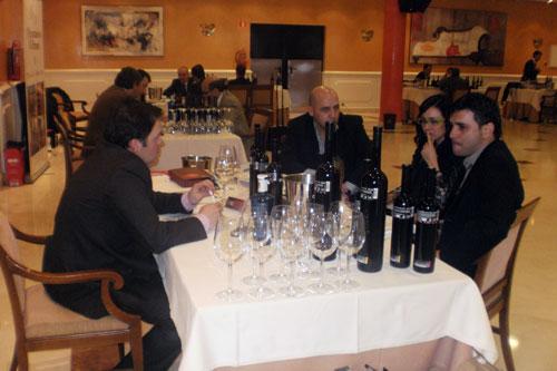 Eindruck vom Treffen zwischen mexikanischen Importeuren und Bodegas aus Ciudad Real am Dienstag dieser Woche.