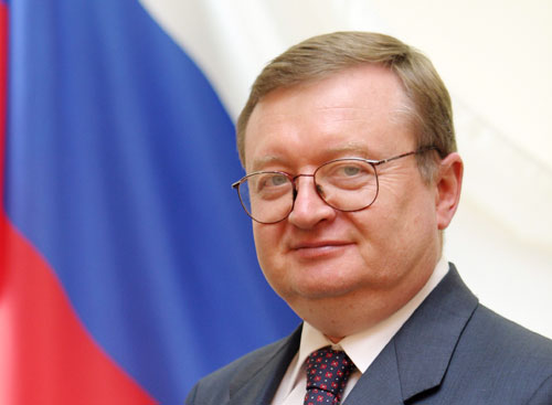 The Russian Ambassador in Spain Alexander I Kuznetsov